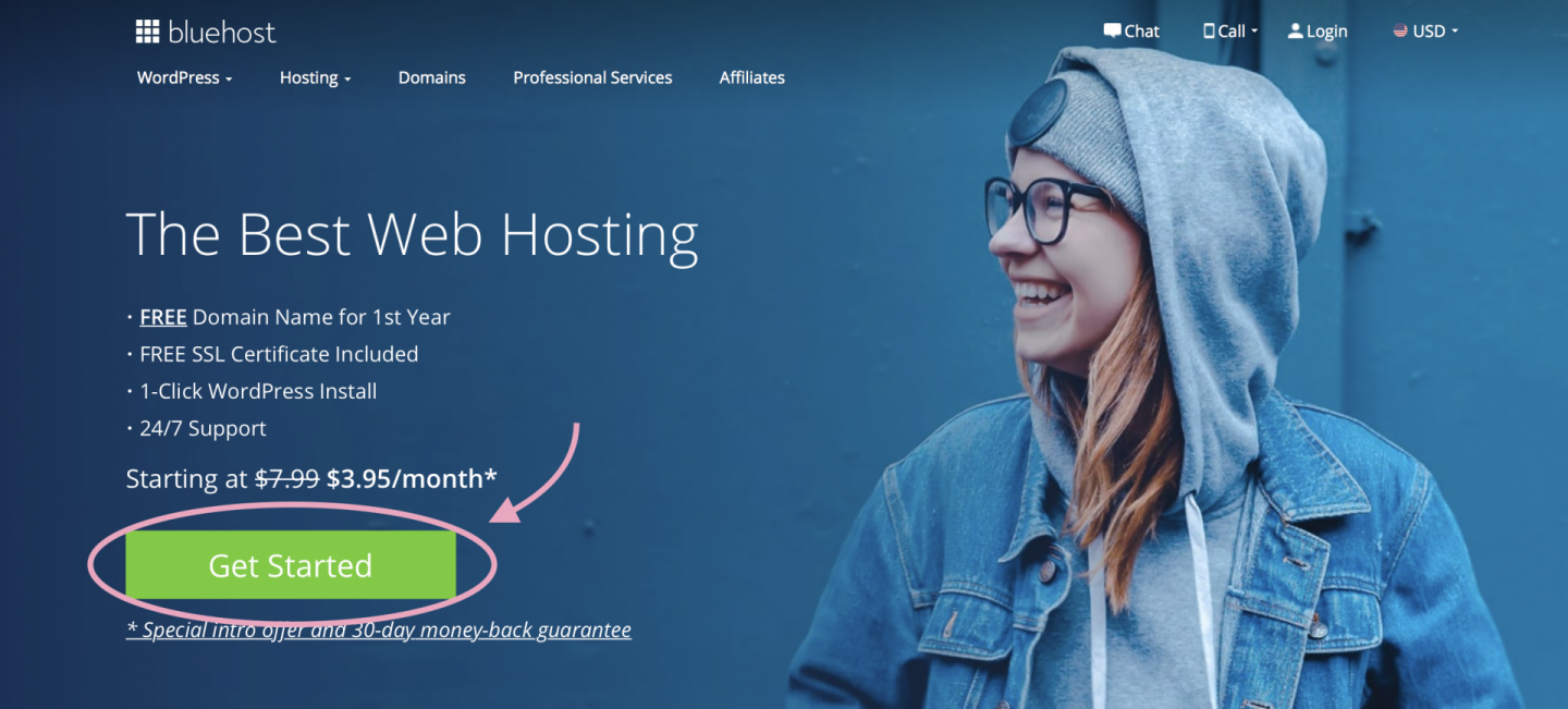 Bluehost To Start A Blog That Makes Money